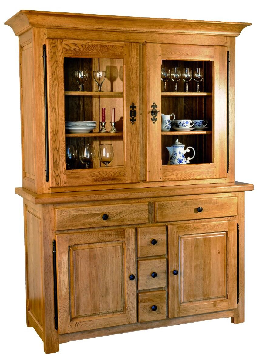 Solid Oak Cabinet Top, 2 Doors