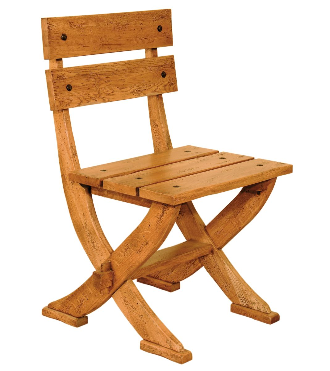 Solid Oak Heritage Chair