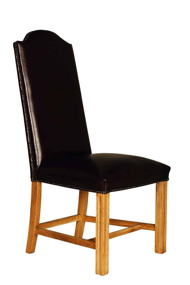Solid Oak Cathedral Chair