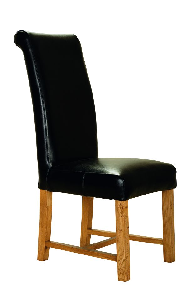 Solid Oak Rolltop Chair