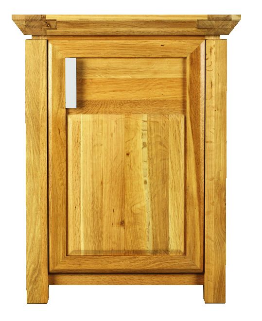 Solid Oak Sideboard, 1 Door
