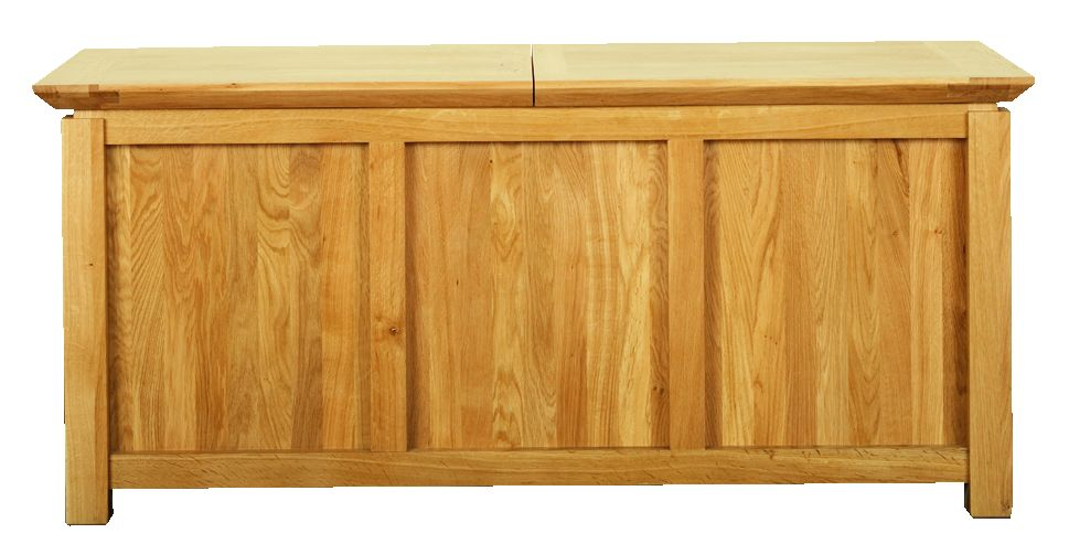 Solid Oak Chest with Lid
