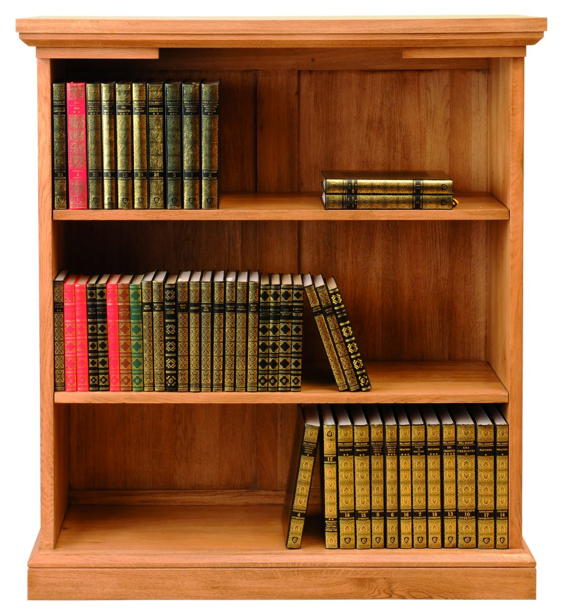 Solid Oak Bookcase