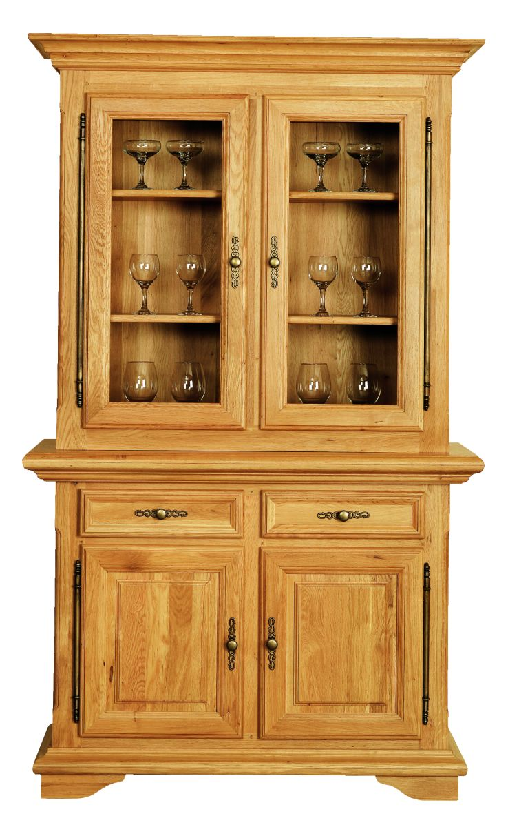 Solid Oak Cabinet Top, 2 Doors
