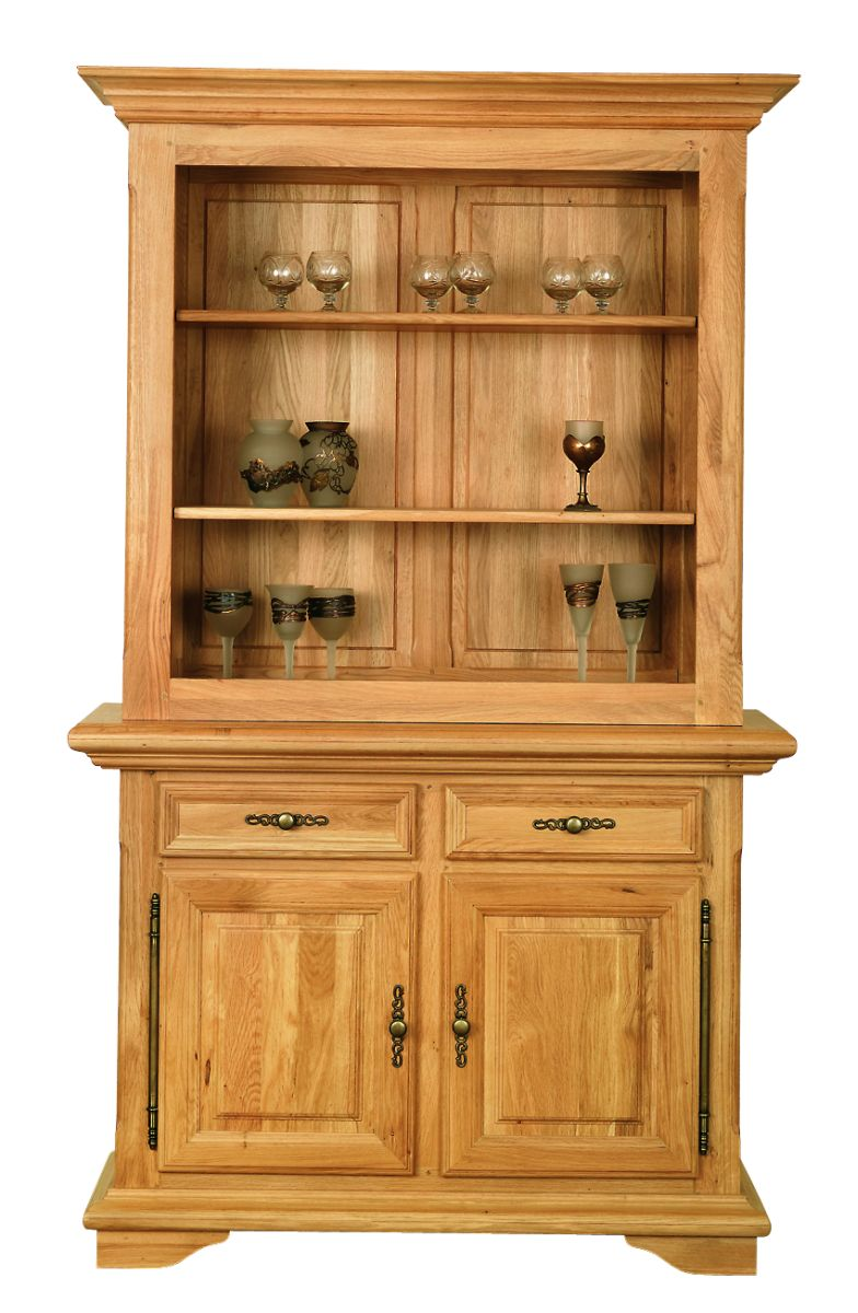 Solid Oak Cabinet Top, Open Area
