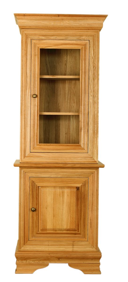 Solid Oak Cabinet Base and Top, 2 Doors
