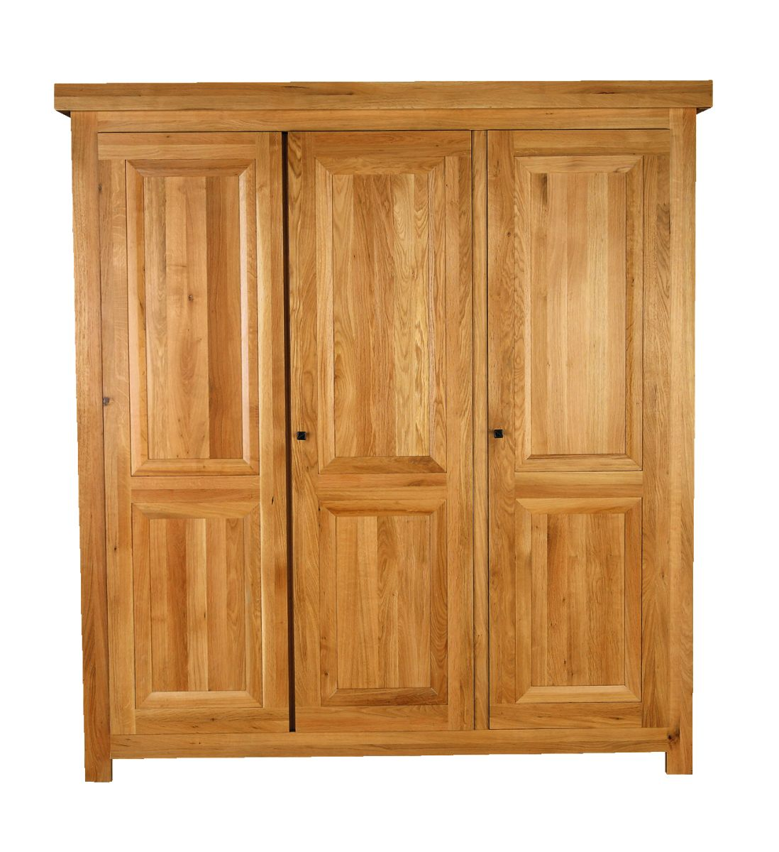 Solid Oak Wardrobe, 3 Doors